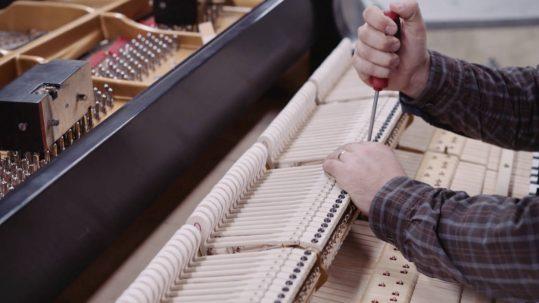 piano keys sticking McLean